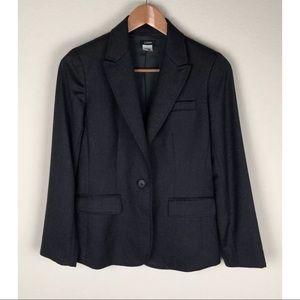 J. Crew Women's Dark Gray Blazer 77824 ~Size 4~